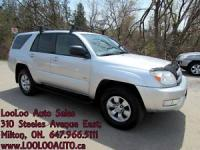 2004 Toyota 4Runner SR5 4X4 Certified 2 Year Warranty Included