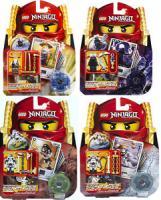 Set of 4 Lego Ninjago Lord Garmadon Sensei Wu Wyplash & Kruncha