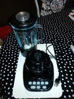 Kitchen Aid Blender Black