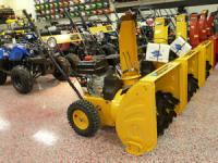 Snow Blowers For Sale! Limited Quantities Left!