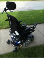 Quantum Q6 Edge power chair and charging dock