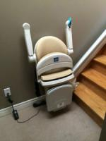 Sterling 1000 Stair Lift with Power Swivel