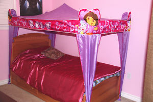 Cozy Dora Twin Bed Canopy - Perfect Conditions! » Miltonu0027s Community Portal! & Cozy Dora Twin Bed Canopy - Perfect Conditions! » Miltonu0027s ...